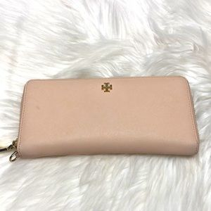 TORY BURCH York Leather Continental Wallet